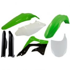 Full Acerbis Plastic Kit KXF 450 2012 OEM Motocross Front Plate Fork Guards